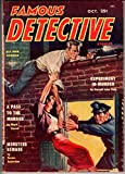 img - for Famous Detective Stories (Oct. 1954) book / textbook / text book