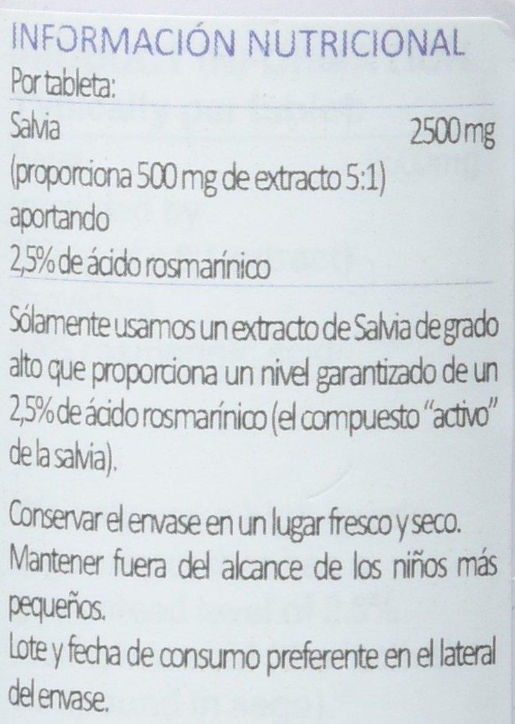Lamberts Salvia 2500mg - 90 Tabletas