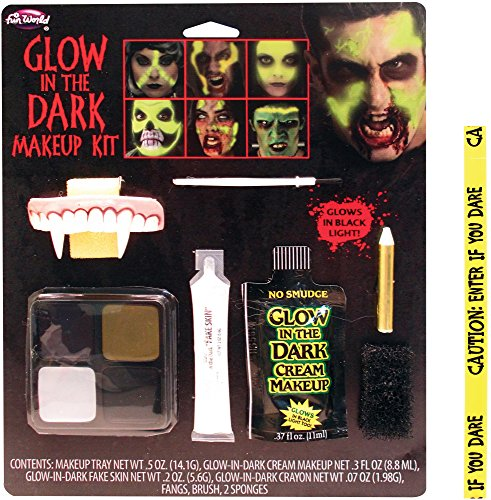 Bundle: 2 Items - Glow-in-the-Dark Family Makeup Kit and FREE Tape Chosen at Random]()