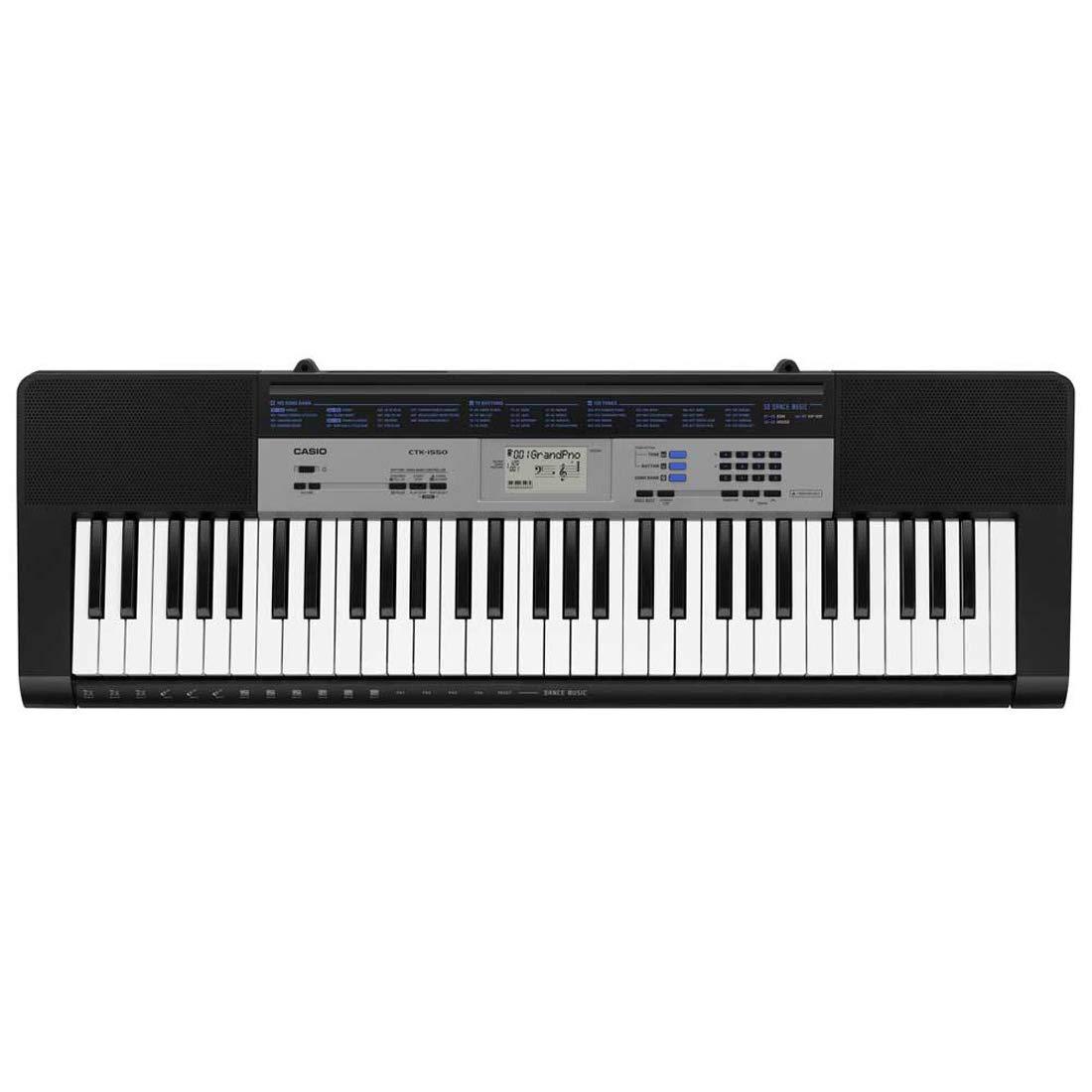c90991b5b54 Casio CTK-1550 61-Key Standard Keyboard (Black): Amazon.in: Musical  Instruments