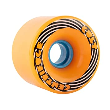 Cult Wheels Centrifuge - Ruedas para Longboard (71 mm), Naranja, 83A