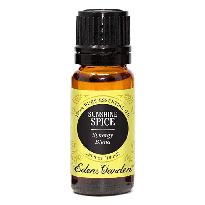 Edens Garden Sunshine Spice Essential Oil Synergy Blend, 100% Pure Therapeutic Grade (Highest Quality Aromatherapy Oils- Cold Flu & Energy), 10 ml
