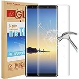 Kany Samsung Galaxy Note 8 Protecteur d'écran, Ultra Clear 9H Film de Protection Écran en Verre trempé Film Anti-Rayures sans Bulles pour Samsung Galaxy Note 8 2017