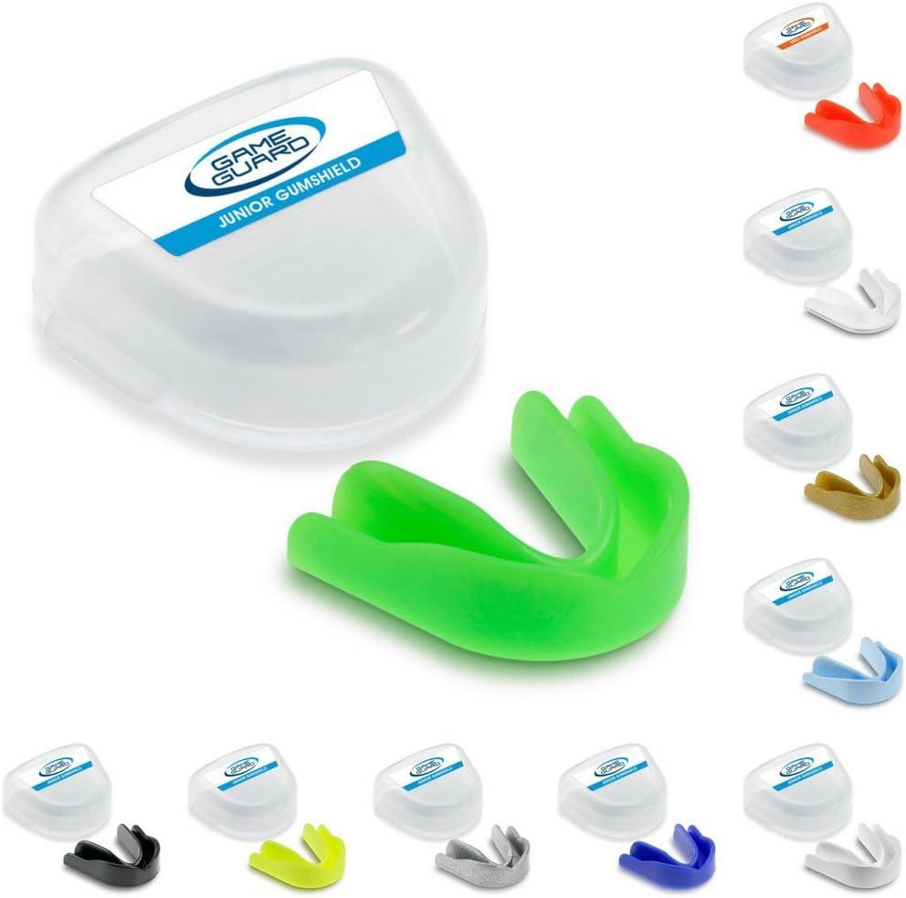 Game Guard - Protector bucal deportivo (10 unidades), colores variados
