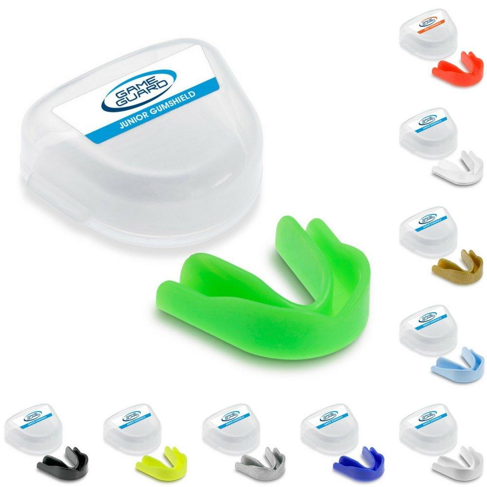 Game Guard - Protector bucal deportivo (10 unidades), colores variados Paul Norman Plastics Ltd