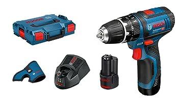 Bosch Professional Akku Schlagbohrmaschine Gsb 12v 15 2x 2 0 Ah
