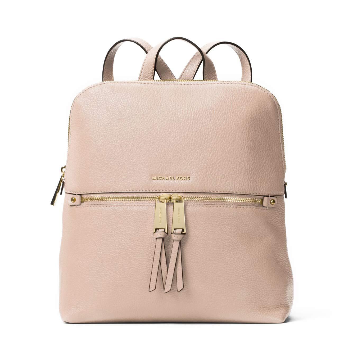 MICHAEL Michael Kors Rhea Zip Medium Slim Backpack (Soft Pink)