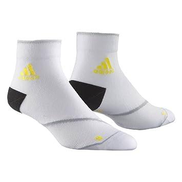 Calcetines Running Adizero, color blanco, tamaño 34/36: Amazon.es: Deportes y aire libre