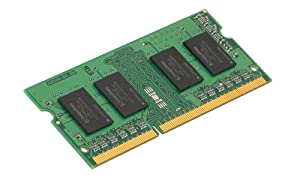 Kingston Technology ValueRAM 2GB 1333MHz DDR3 Non-ECC CL9 SODIMM SR X16 Notebook and Portable Memory KVR13S9S6/2