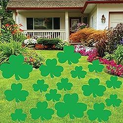St. Patrick's Day - Yard Decoration - Shamrocks