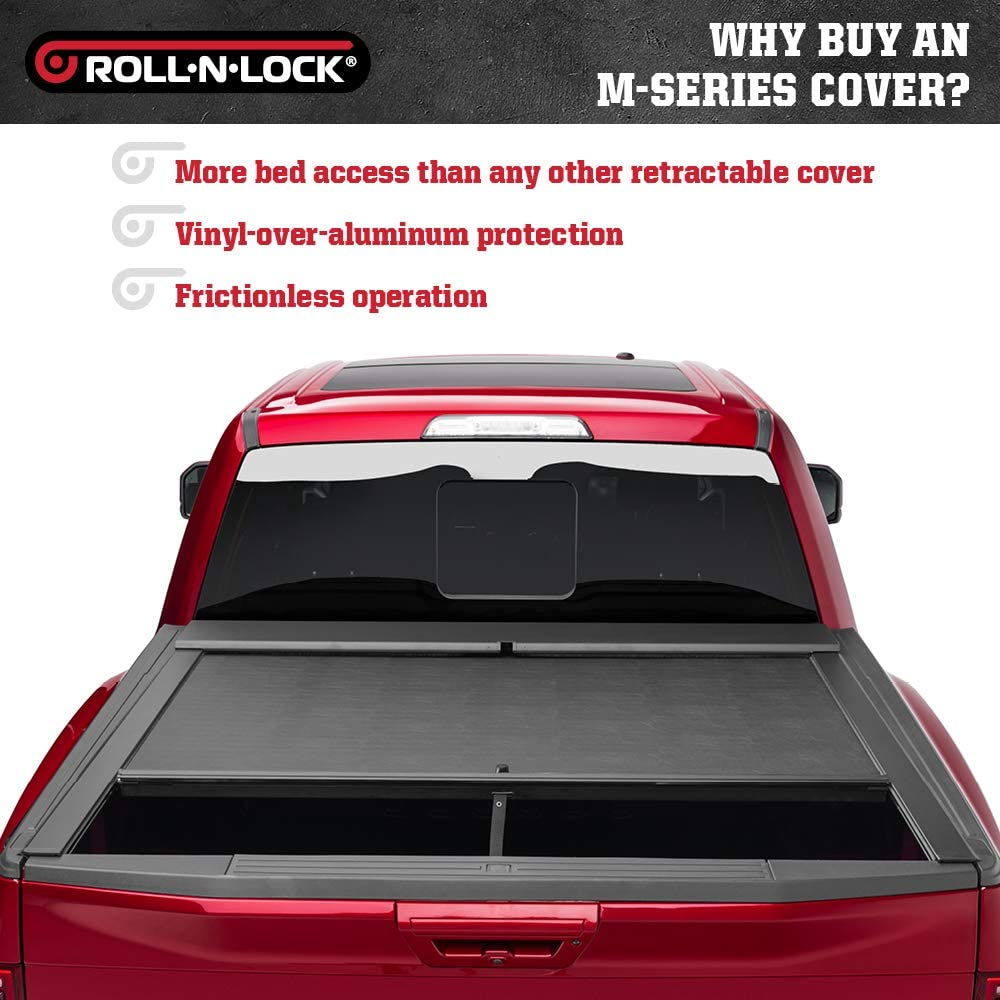 Fits 2015-2020 GM//Chevy Colorado//Canyon 5 Bed BT261A Roll N Lock A-Series Retractable Truck Bed Tonneau Cover