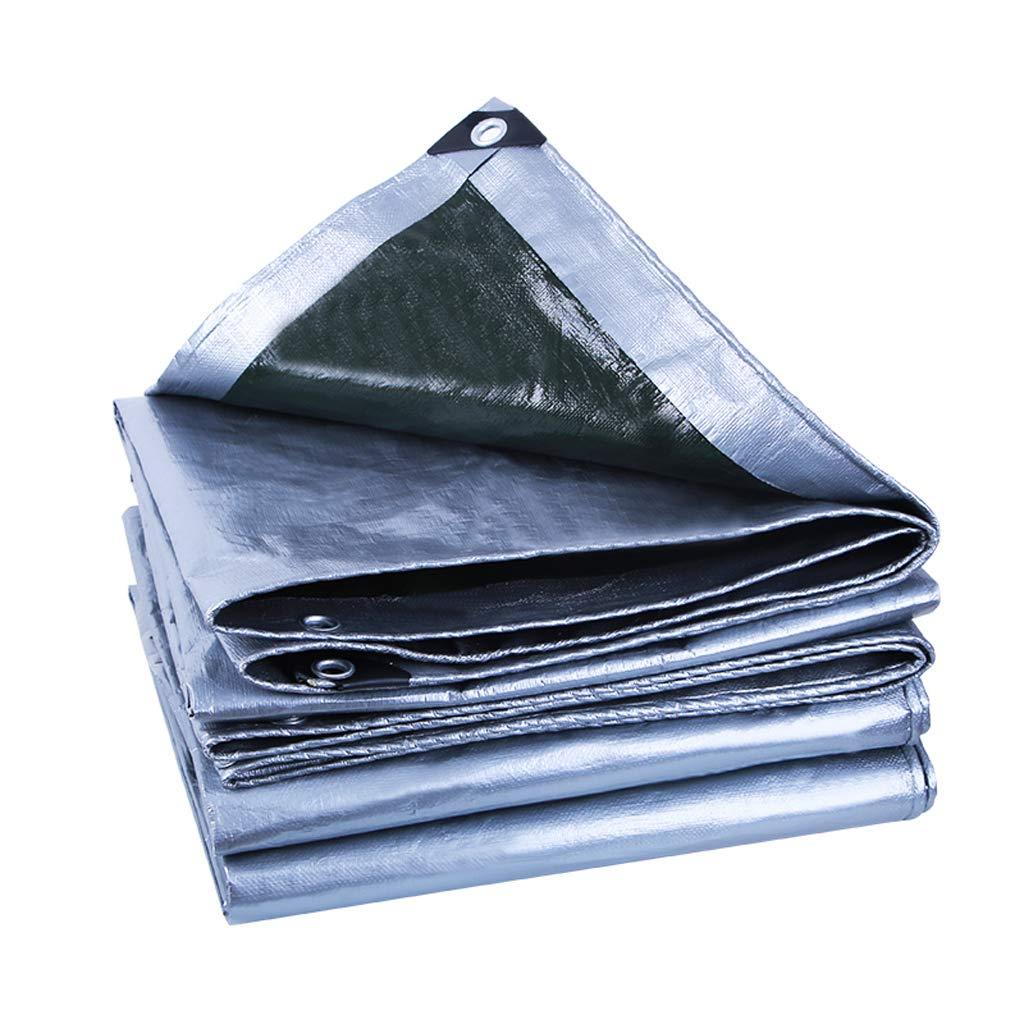 MSNDIAN Telone Impermeabile Esterno telone Poncho Parasole telone Protezione Solare Tenda Auto Isolamento Articoli Sportivi all'aperto (Dimensioni   5m10m)