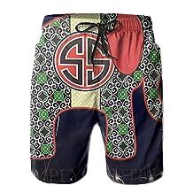 Essentials Of Patriotic Prep Quick Dry Beach Board Shorts Swim Trunks