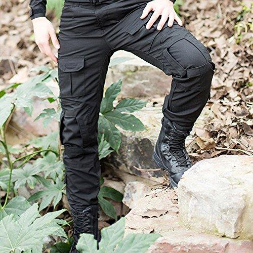 Libertepe Pantalon Militaire Cargo Pantalon Coupe Droite Fitnesse Casual  Pants Coton Jogging Randonnée Plein Air Homme Automne Printemps  Amazon.fr   ... e9e83cc27ea