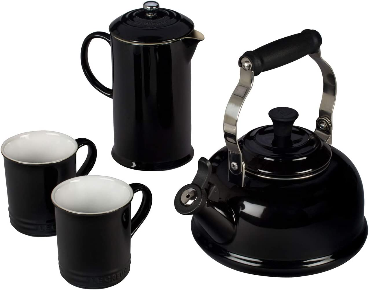 Le Creuset Traditional Kettle 2.1 Litre Black