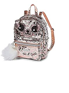 de95274ca878 Amazon.com | Justice Unicorn Sequin Mini Backpack | Casual Daypacks