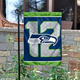 "NFL Seattle Seahawks WCR38224014 Garden Flag, 11"" x 15"""