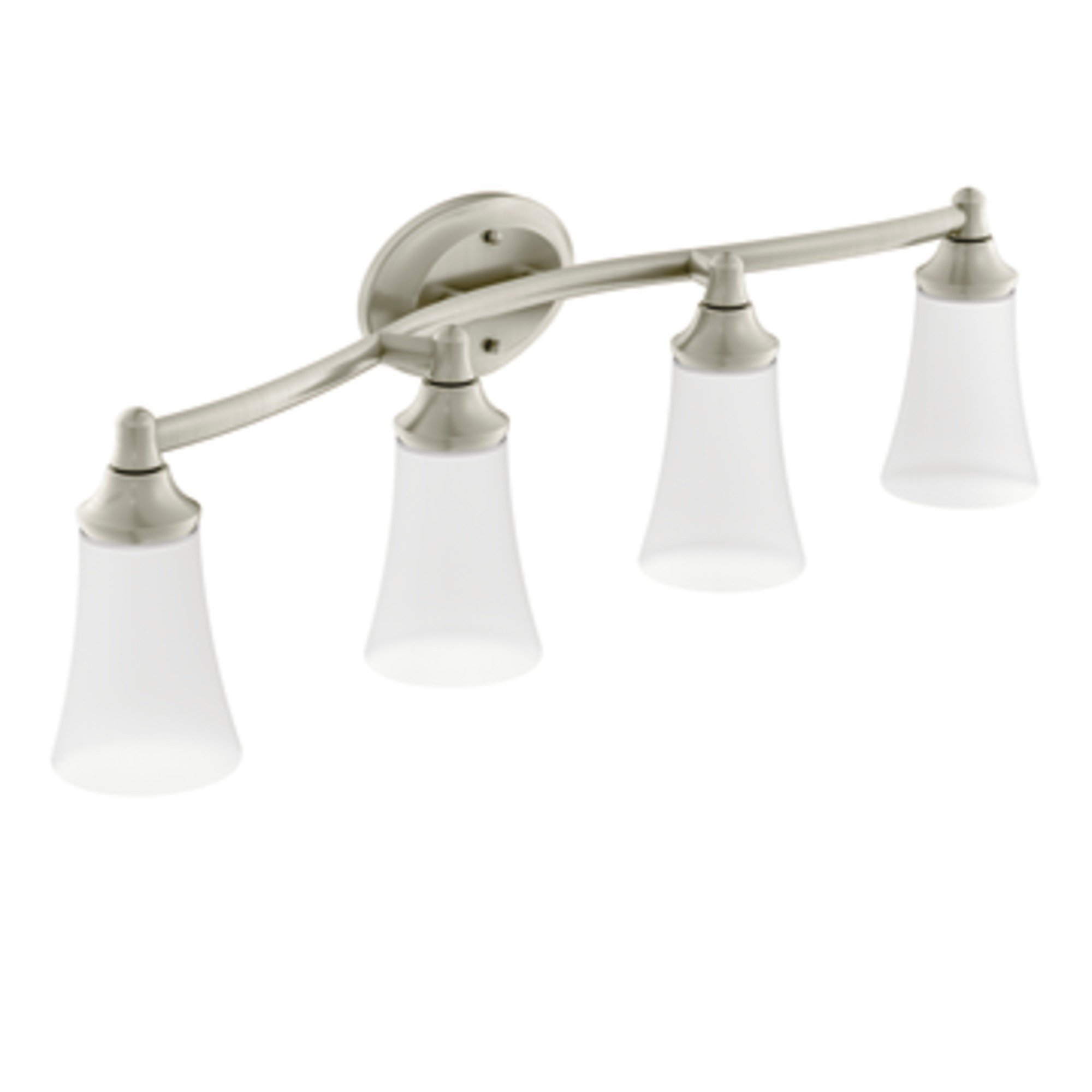 Moen YB2864BN Eva Bath Lighting, Brushed Nickel
