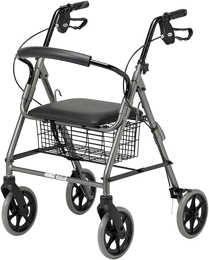 Andador para Ancianos con Asiento y Freno Patterson Medical