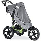 BOB Sun Shield for 2016 Fixed Wheel Single Strollers, Gray