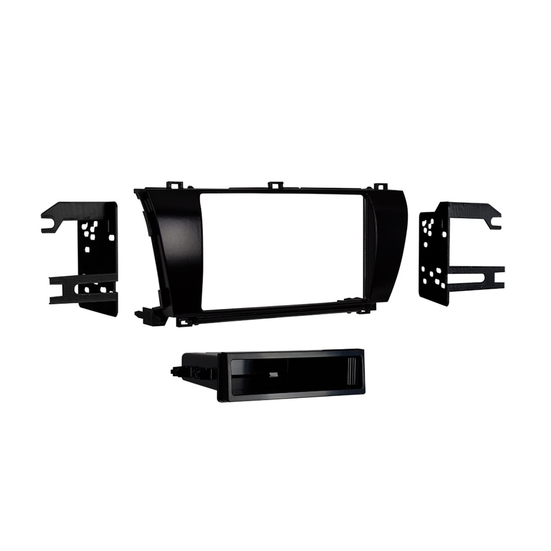 Metra 99-8245CHG Single DIN High Gloss Dash Kit for Toyota Corolla ...