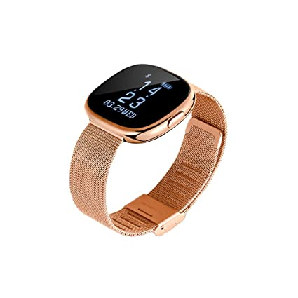 Amazon.com: UKCOCO Smart Wristbands Fitness Tracker Heart Rate ...