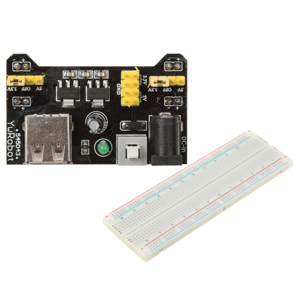 65x Jumper Cables Kit for Arduino Board Solderless Breadboard 3.3V//5V Power Supply Module Jili Online MB102 Breadboard