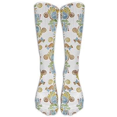 High Boots Crew Lemur Compression Socks Comfortable Long Dress For Men Women