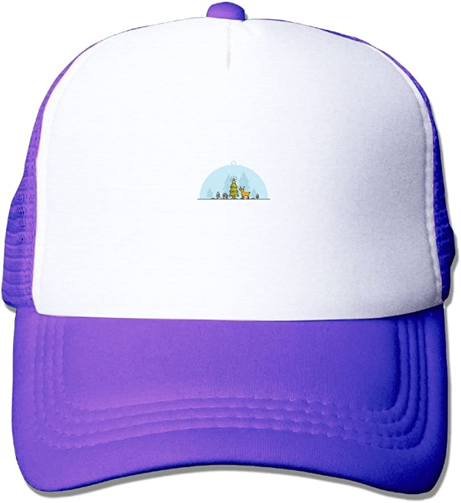 FeiTian Christmas Comfort Baseball Caps For Kids Designs Great For Travle Running Trucker Hats