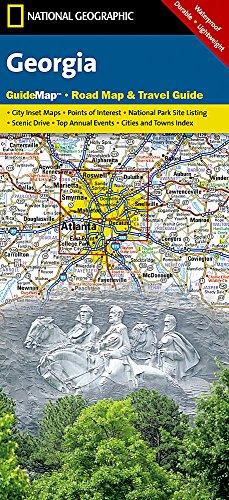 Georgia (National Geographic Guide - Map Georgia
