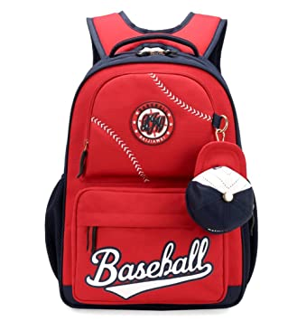 Amazon.com  Fanci Baseball Cap Primary School Backpack for Teens Boys  Elementary School Bookbag with Coin Purse  Toys   Games 986a89724dce3