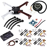 DIY F450 Quadcopter Kit with APM 2.6 flight controller + 7M GPS + A2212 1000KV Brushless Motor + 30A ESC +1045 Propellers