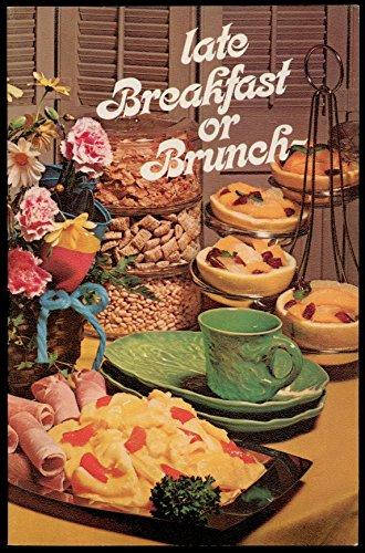 - Late Breakfast or Brunch