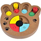 Lifeunion Pet Treat Seeker Play IQ Training Eudcational Games Toys with Ethical Tinkle Bell for Dogs Interactive with Shuffle Puzzle