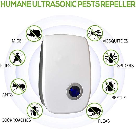 Repelente ultrasónico de plagas, control electrónico de plagas ...