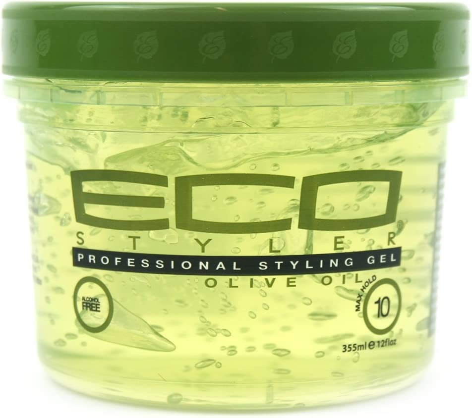 Eco Styler Gel a base de aceite de oliva - Para todo tipo de cabello, 355 ml