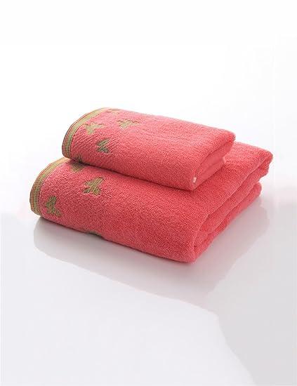 TOWEL Las Toallas Suaves Grandes absorbentes 140 * 70CM (3 Colores Opcionales) de la