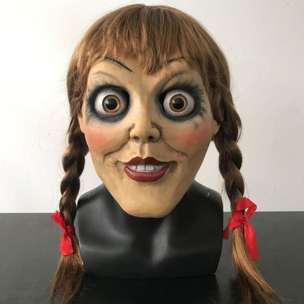 LIZHIOO Película Annabelle Comes Home Judy Warren Cosplay Máscaras ...