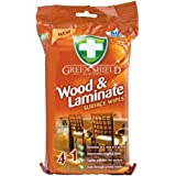 Greenshield Wood and Laminate Surface Wipes - Pack of 50