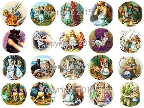 Alice in Wonderland by John Tenniel 1 3/4