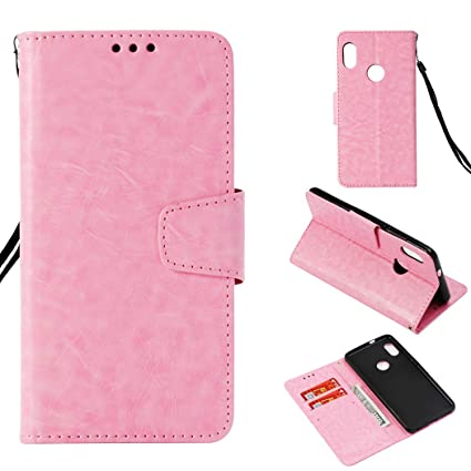 the best attitude 851ea 2ea8e Bangcool Xiaomi Redmi Note 5 Pro Wallet Case Full Protective Flip Cover for  Xiaomi Redmi Note 5 Pro with Lanyard Strap