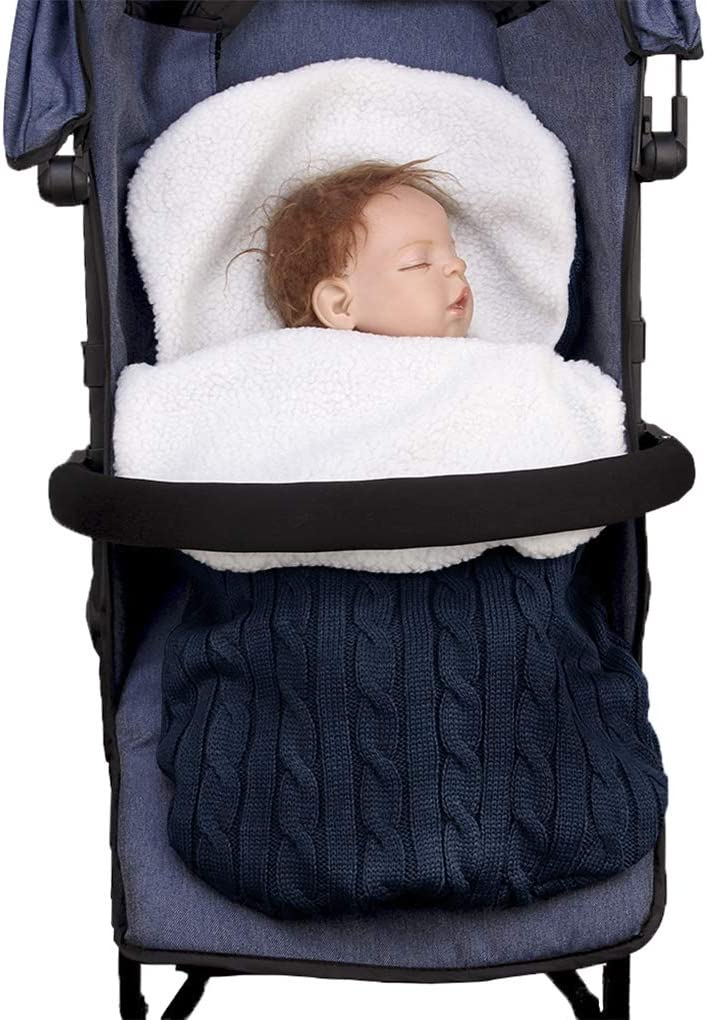BABY PRAM STROLLER COT BED CAR SEAT PUSHCHAIR FOOTMUFF SLEEPING BAG BLANKET