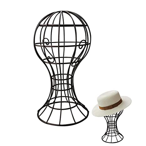A-SZCXTOP Sturdy Metal Hat Stand Freestanding Wire Ball Cap Rack Wig Holder  Storage Display Stand for Home Decoration  Amazon.ca  Home   Kitchen 82b709f27d5