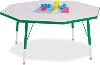 product image for Jonti-Craft Rainbow Accents Kydz Octagon Activity Table (15-24 in. H - Orange)