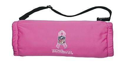 0b9c72aaac70 Amazon.com   Wilson Youth Hand Warmer with Nfl Bca Logo (Pink ...