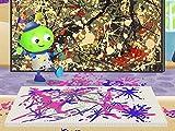 Jackson's Action Painting/Arty Plays Safari
