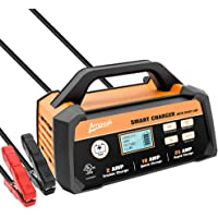 $67 Get Ampeak 2/10/25A Smart Battery Charger/Maintainer 12V Fully Automatic with Start Aid