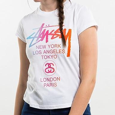 912760ffba9 (ステューシー)Stussy レディース Tシャツ 半袖 STUSSY WT FADE BABY TEE (2色