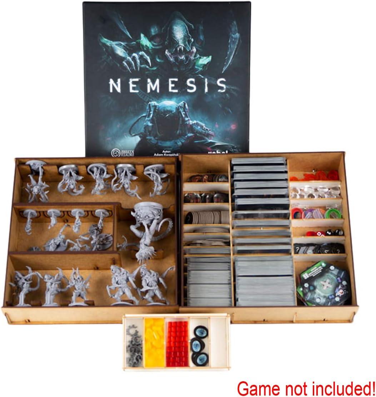 docsmagic.de Organizer Insert for Nemesis Box - Encarte: Amazon.es: Juguetes y juegos