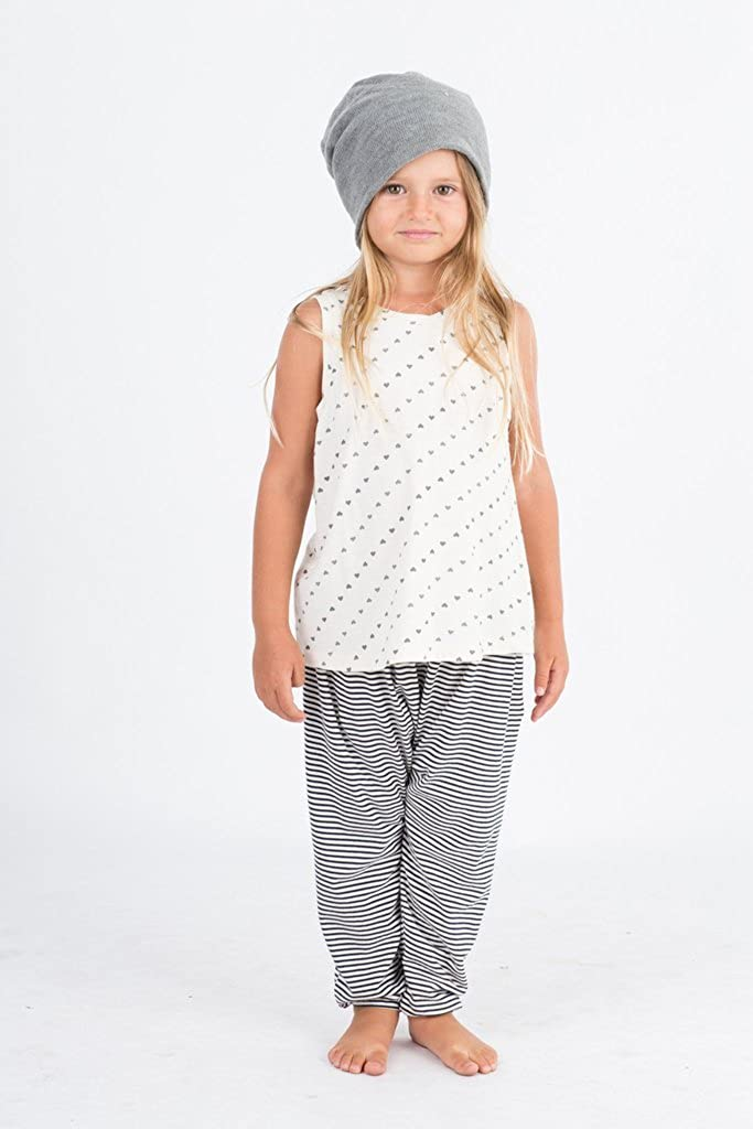 GO GENTLY BABY PRINTED TANK-NATURAL HEARTS